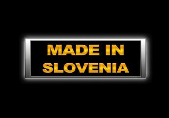 Made in Slovenia.