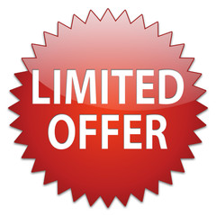 sticker red limited offer