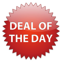 sticker red deal of the day