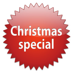 sticker red christmas special