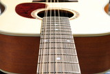 close-up of an acoustic twelve strings guitar poster