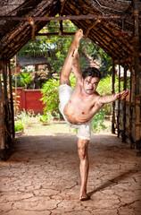 Yoga natarajasana in India