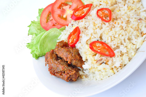Fried Rice and Beef