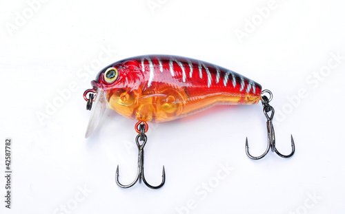 Red Plastic Lure