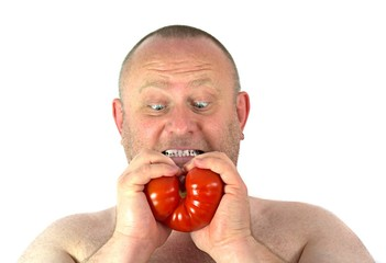 Tomate zerreisen