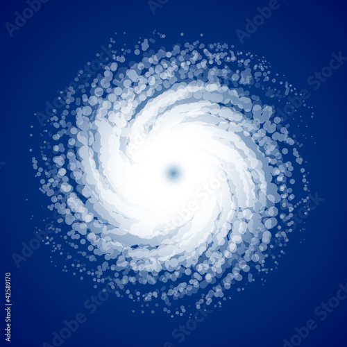 Hurricane from space - 42589170