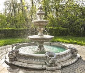 fountain multi-tiered