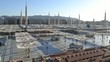 Nabawi Mosque time lapse at the morning