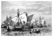 1st Crusade : Ships on the Bosphorus - 11th century