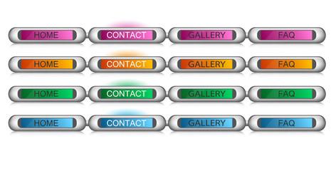 original buttons for web