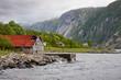 Bootshaus in Skandinavien