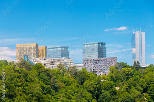 Luxembourg Kirchberg area
