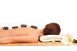 massage mit lavasteinen