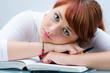 übermüdet vom lernen
