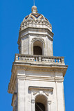 Mother Church of Castrignano de' Greci. Puglia. Italy.