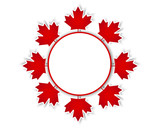 Canada Day stickers.