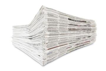 Zeitungen isoliert
