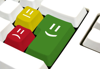 Kundenrezension online Konzept