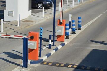 entrée de parking