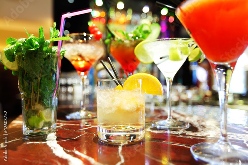 Colorful cocktails - 42603752