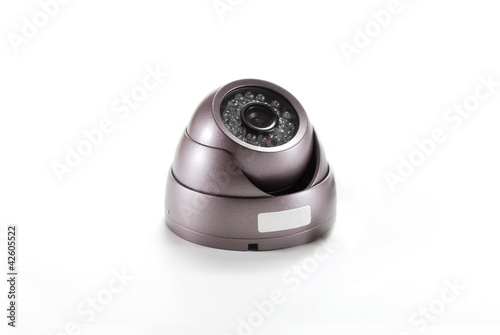 Isolated video surveillance camera