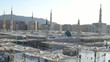 Nabawi Mosque west side time lapse at the morning