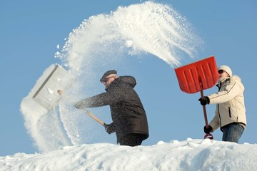 Amazing snow removal