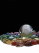 Crystal Ball and Chakra Healing Stones