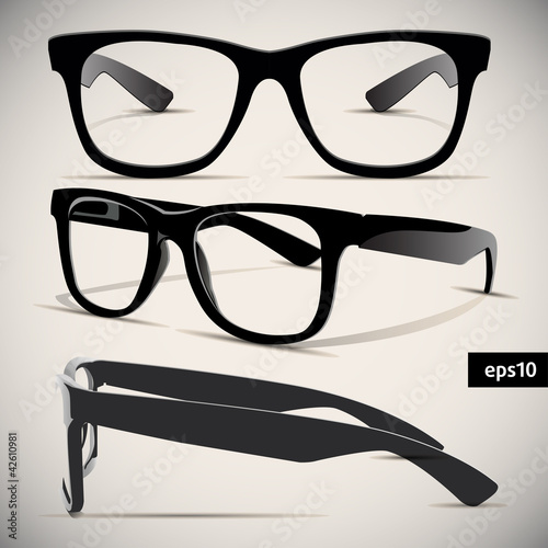glasses vector set - 42610981