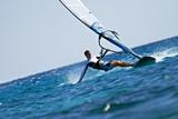 Fototapete Fliegender - Wellenreiter - Sommersport