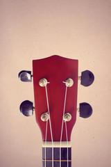 Ukulele guitar Hawaii style