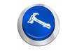 Botón azul martillo