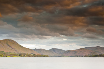 Ullswater in the Lake District national park.