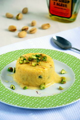 Kulfi (indyjskie lody z mango i pistacjami indian mango icecream