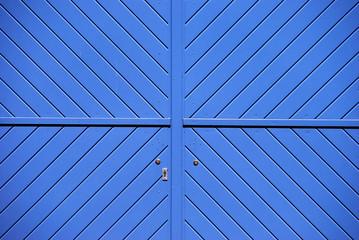 Gragentor in blau