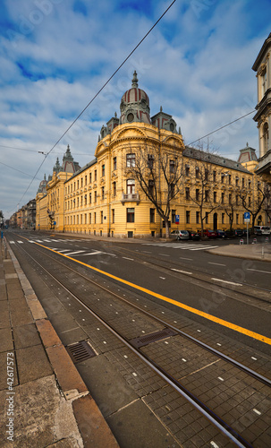 architecture of Zagreb, Croatia