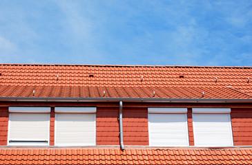 Dachgaube und Aussenjalousien