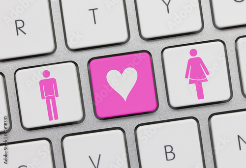 Heterosexual love keyboard