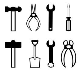 Plaquette d'outils bricolage