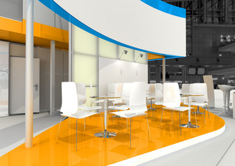 exhibition stand interior