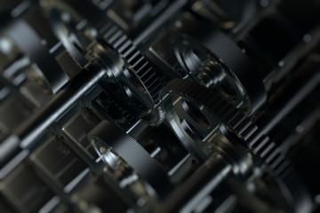 Cogs gears detail