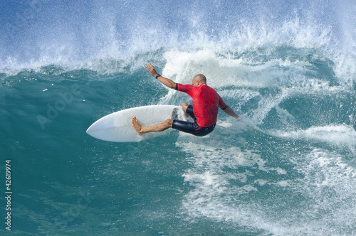 Leinwandbild Motiv Surf