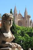 Urban scenic in Palma de Mallorca poster
