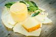 Pecorino sardo cheese, typical sardinian product