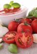 gazpacho/tomato sauce