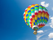 Leinwandbild Motiv Hot air ballon