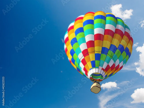 Plexiglas Ballon Hot air ballon
