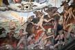 Leinwanddruck Bild - Florence - Duomo .The Last Judgement. Inside the cupola