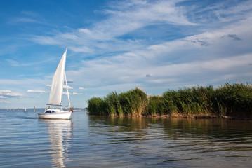 Segelschiff Segeln See