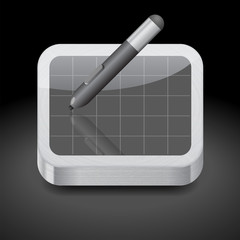 Icon for pen tablet